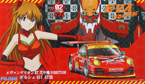 Fujimi 189994 Evangelion RT 02 Direction Racing Porsche 911 GT3R 1/24 Scale Kit