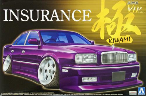 Aoshima 08256 Nissan President G50 INSURANCE Kiwami 1/24 Scale Kit