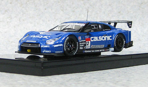 Ebbro 44911 Calsonic Impul Nissan Skyline GT-R Super GT500 2013 #12 1/43 Scale