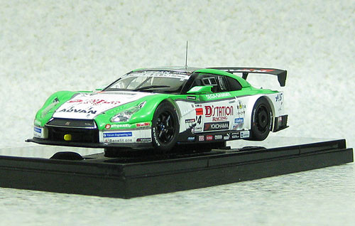 Ebbro 44913 D'station Advan Nissan GT-R Super GT500 2013 #24 1/43 Scale