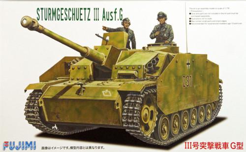 Fujimi SWA06 Special World Armor Sturmgeschuetz III Ausf.G 1/76 Scale Kit