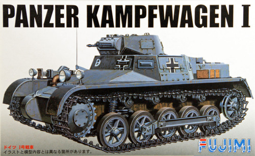 Fujimi SWA26 Special World Armor Panzer Kampfwagen I 1/76 Scale Kit