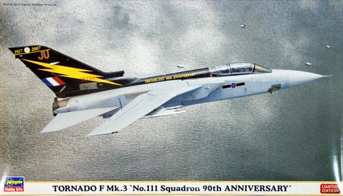 Hasegawa 01959 Tornado F Mk.3 No.111 Squadron 90th Anniversary 1/72 Scale Kit