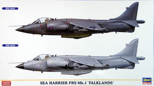 Hasegawa 02017 Sea Harrier FRS Mk.1 Falklands 1/72 Scale Kit