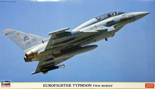 Hasegawa 02051 Eurofighter Typhoon two seater 1/72 Scale Kit