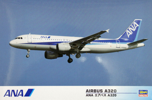 Hasegawa 10696 ANA Airbus A320 (All Nippon Airways) 1/144 Scale Kit