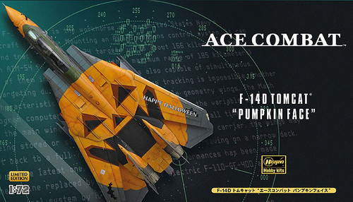 Hasegawa SP309 Ace Combat F-14D Tomcat Pumpkin Face 1/72 Scale Kit