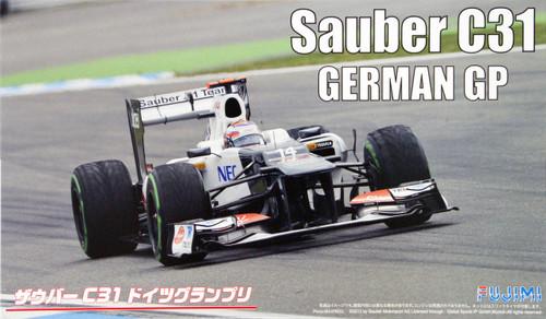 Fujimi GP55 F1 Sauber C31 German GP 1/20 Scale Kit