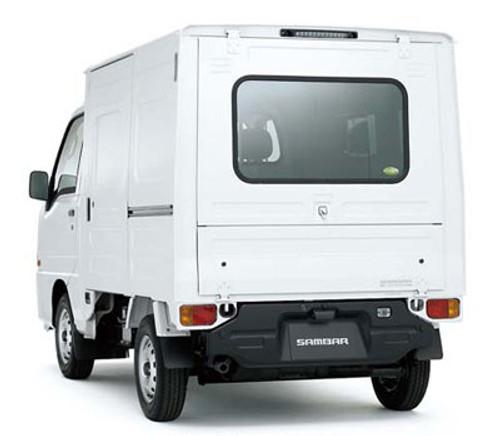 Aoshima 07389 Subaru SAMBAR Truck VB PANEL VAN 1/24 Scale Kit
