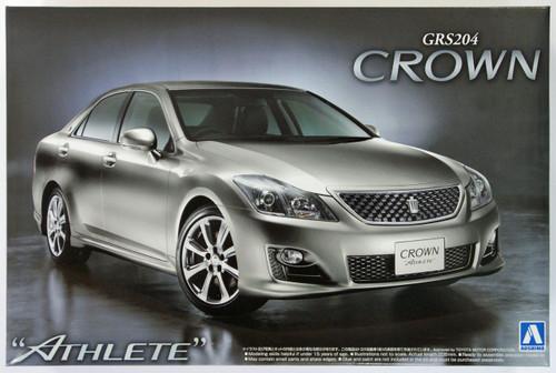 Aoshima 43684 Toyota Crown 3.5 Athlete (GRS204) 2008 1/24 Scale Kit