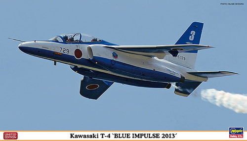 Hasegawa 02071 Kawasaki T-4 Blue Impulse 2013 1/72 Scale Kit
