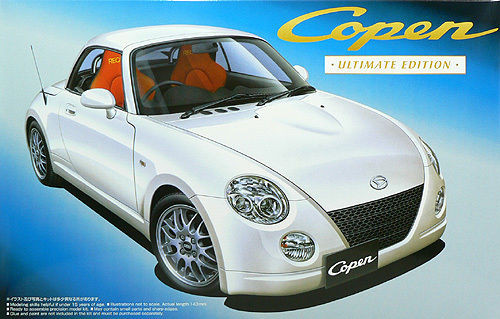Aoshima 45015 Daihatsu Copen Ultimate edition 1/24 Scale Kit