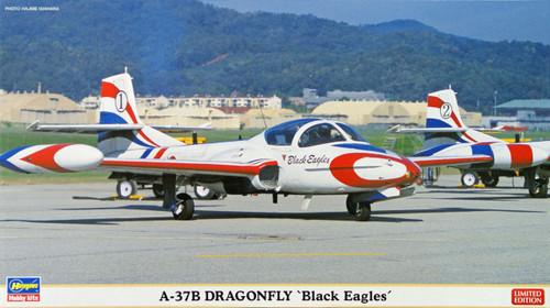 Hasegawa 02072 A-37B Dragonfly Black Eagles (2 plane set) 1/72 Scale Kit