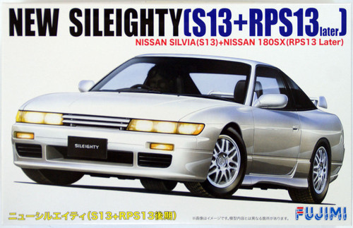 Fujimi ID-67 Nissan New Sileighty (Silvia S13+180SX RPS13 Later) 1/24 Scale Kit