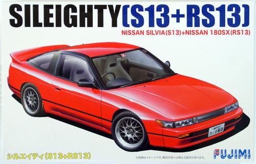 Fujimi ID-96 Nissan Sileighty (Silvia S13+180SX RS13) 1/24 Scale Kit