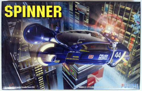 Fujimi 091341 Blade Runner Spinner (Pre-painted Parts) 1/24 Scale Kit