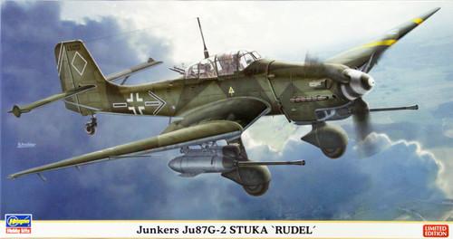 Hasegawa 07360 Junkers Ju87G-2 Stuka Rudel 1/48 Scale Kit
