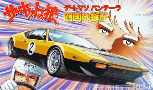 Fujimi CW2 Circuit Wolf De Tomasa Pantera Lion of Shikoku 1/24 Scale Kit