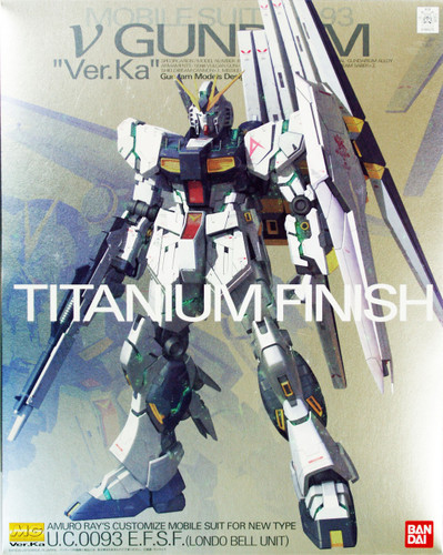 Bandai MG 865755 V Gundam RX-93 VersionKa Titanium Finish 1/100 Scale Kit