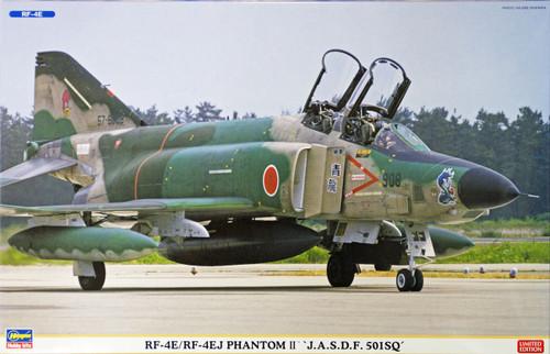 Hasegawa 02075 RF-4E/RF-4EJ Phantom II JASDF 501SQ (2 plane set) 1/72 Scale Kit