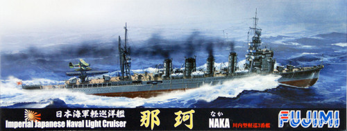 Fujimi TOKU-105 IJN Imperial Japanese Naval Light Cruiser Naka 1/700 Scale Kit