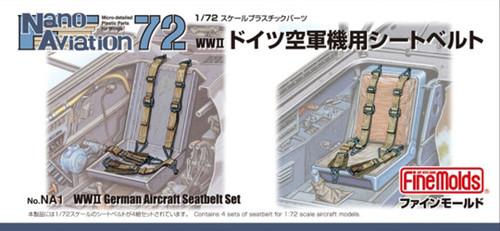Fine Molds NA1 WW2 German Aircraft Seatbelt Set 1/72 Scale Kit