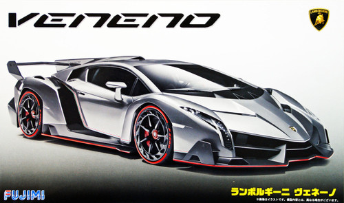 Fujimi RS-01 Lamborghini Veneno 1/24 Scale Kit