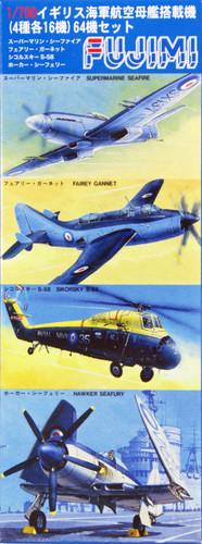 Fujimi 1/700 Gup90 Grade-Up Parts Aircraft Set (64 planes) 1/700 Scale