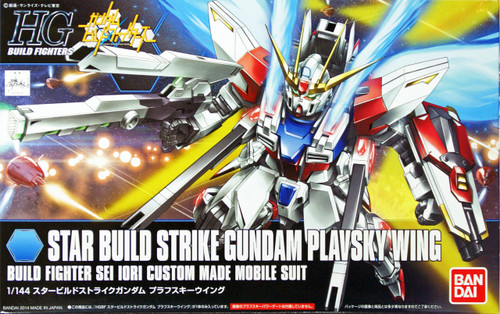 Bandai HG Build Fighters 009 STAR BUILD STRIKE Gundam PLAVSKY WING 1/144 Kit