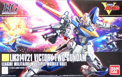 Bandai HGUC 169 Gundam LM312V21 VICTORY TWO Gundam 1/144 Scale Kit