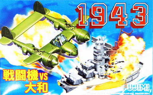 Fujimi 144245 Chibi-maru 1943 The Battle of Midway Fighter vs Yamato non-Scale Kit
