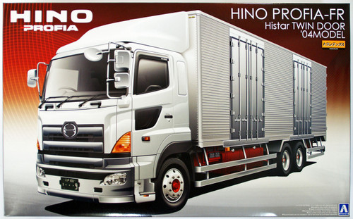 Aoshima 09581 Hino Profia FR Histar Twin Door 2004 1/32 Scale Kit