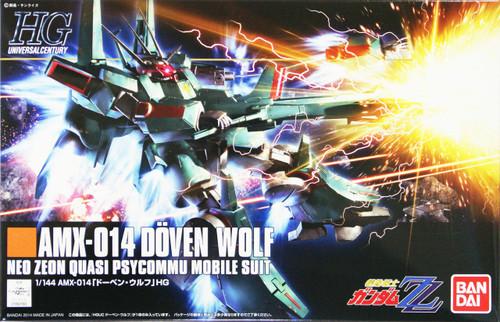 Bandai HGUC 173 Gundam AMX-014 DOVEN WOLF NEO ZEON QUASI PSYCOMMU MOBILE SUIT 1/144 Scale Kit