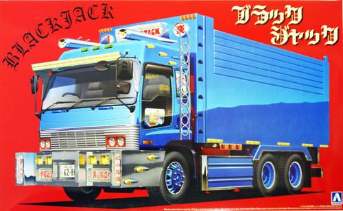 Aoshima 09666 Japanese Decoration Truck Black Jack 1/32 Scale Kit