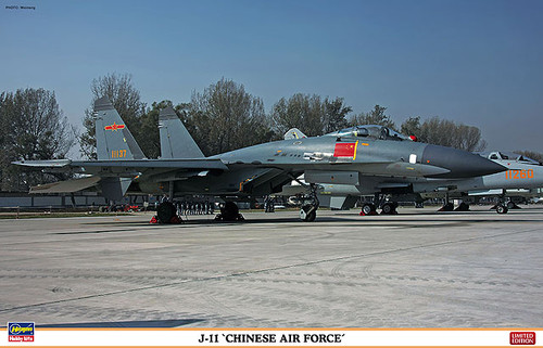 Hasegawa 02090 J-11 Chinese Air Force 1/72 Scale Kit