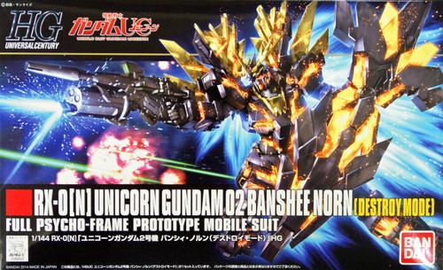 Bandai HGUC 175 Gundam RX-0 [N] UNICORN Gundam 02 BANSHEE NORN 1/144 Scale Kit