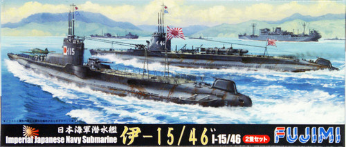 Fujimi TOKU-107 IJN Imperial Japanese Navy Submarine I-15/46 1/700 Scale Kit