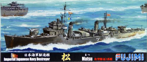 Fujimi TOKU-108 IJN Imperial Japanese Navy Destroyer Matsu 1/700 Scale Kit