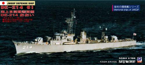 Pit-Road Skywave J-59 JMSDF Defense Ship DE-214 Oi 1/700 Scale Kit