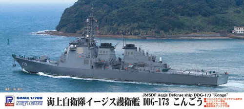 Pit-Road Skywave J-60 JMSDF Aegis Defense Ship DDG-173 Kongo 1/700 Scale Kit