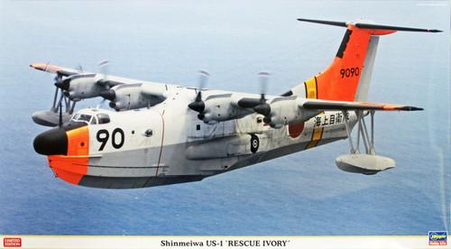Hasegawa 02094 Shinmeiwa US-1 Rescue Ivory 1/72 Scale Kit