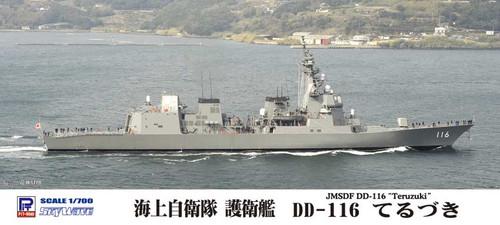 Pit-Road Skywave J-66 JMSDF Defense Ship DD-116 Teruzuki 1/700 Scale Kit