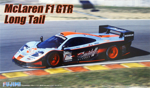 Fujimi RS-95 McLaren F1 GTR Long Tail 1997 #1 1/24 Scale Kit