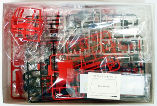 Aoshima 07419 SUBARU SAMBAR Truck Post Office Car 1/24 Scale Kit