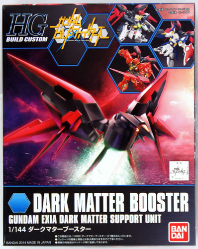 Bandai HG Build Custom 011 DARK MATTER BOOSTER 1/144 Scale Kit