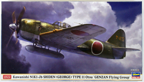 Hasegawa 07378 Kawanishi N1K1-Jb Shiden (George) Type 11 Otsu Genzan Flying Group 1/48 Scale Kit