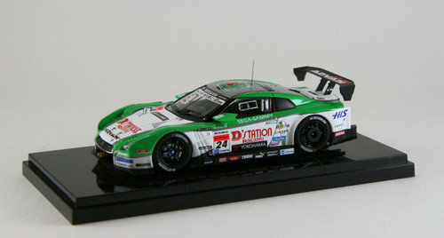 Ebbro 44966 Nissan GTR R35 GT500 2013 Low down force No.24 D'Station 1/43 Scale
