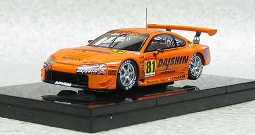 Ebbro 44968 Nissan Silvia S15 DAISHIN ADVAN JGTC 2001 1/43 Scale