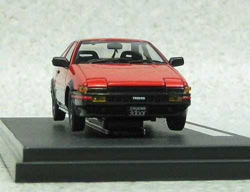 Ebbro 44974 Toyota Sprinter Trueno AE86 GTV Red 1/43 Scale