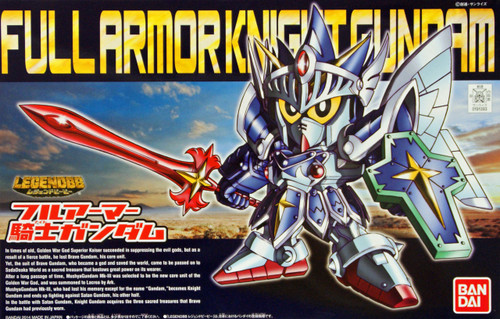 Bandai SD BB 393 Gundam Full Armor Knight Gundam Plastic Model Kit